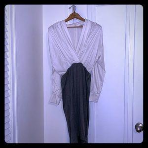 VINTAGE Stretch Cotton Cocktail Dress